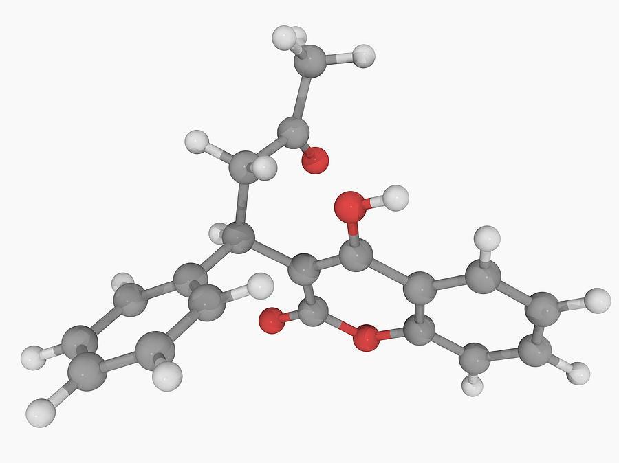 warfarin-drug-molecule-laguna-design